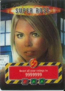 SUPER ROSE  BBC 2006 Doctor Who   Battles InTime  UR3D Card-  10623